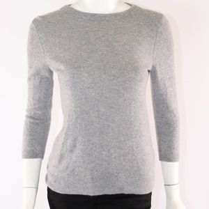 Talbots Pure Cashmere Grey Small Sweater